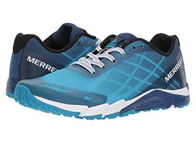 Merrell Kids Bare Access (Big Kid) (Blue) Boys Shoes