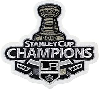 NHL Los Angeles Kings Logo Patch - 2012 Stanley Cup Champions Los Angeles Kings