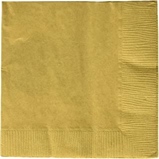 Amscan Party Supplies, 3 Pack, Gold