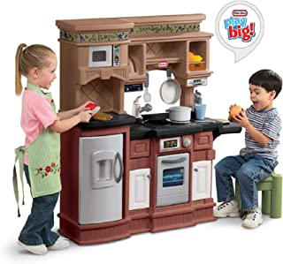 gourmet prep and serve kitchen little tikes