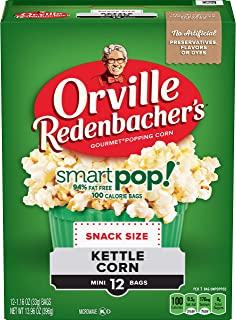 Orville Redenbacher's SmartPop! Butter Microwave Popcorn , Pack of 6