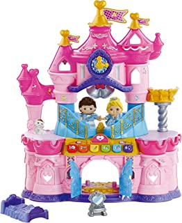 VTech Toot-Toot Friends Magic Light Castle Girls Toy, Interactive Princess Toy with Music, Sound & Lights, Educational Kid...