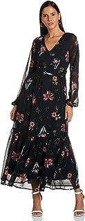 فستان بيترا باكمام طويلة للنساء من فيرو مودا