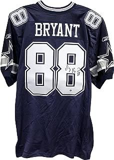 Dez Bryant Dallas Cowboys Autographed Authentic Reebok Blue Jersey