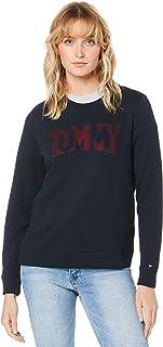 TOMMY HILFIGER Women's Rhinestone Logo Sweatshirt