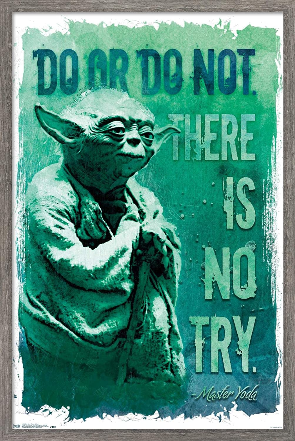 Trends International Star Wars: Saga - Poster Daily shop bargain sale Or Wall Not Do