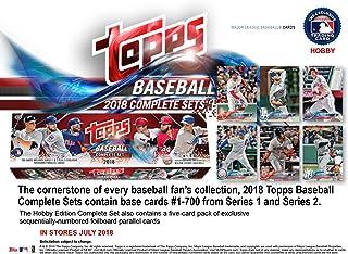 Topps 2018 Baseball Hobby Edition Complete 705 Card Factory Set - Baseball Complete Sets