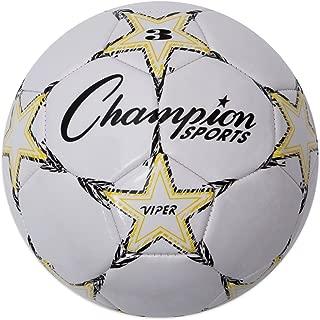 Champion Sports Viper Soccer Ball - Sizes 3, 4, 5