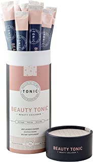 Tonic: Beauty Collagen Powder & Paleo + Keto Collagen, Dietary Collagen Supplement for Healthy Skin, Nails & Hair, Anti Ce...