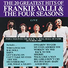 Frankie Valli & The Four Seasons: 20 Greatest Hits Live