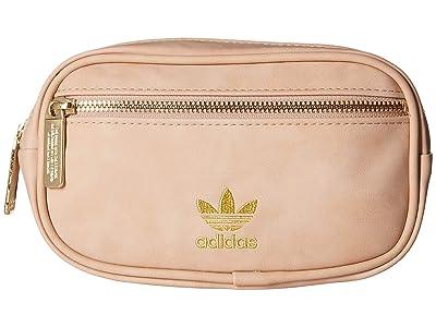 adidas Originals Originals PU Suede Waist Pack (Ash Pearl Pink) Bags