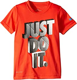 Swoosh Invader Just Do It Dri-FIT™ Short Sleeve Tee (Toddler/Little Kids)