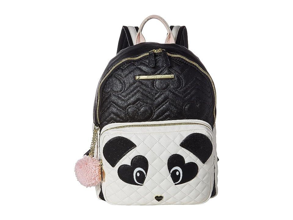 Betsey Johnson Cat Backpack (Black Multi) Backpack Bags