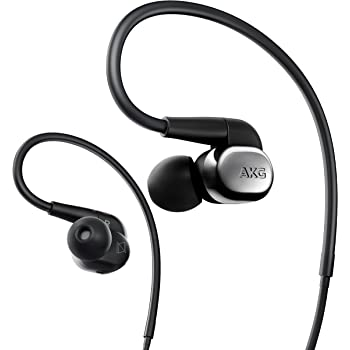 AKG N40 Canal Type Earphone high Resolution corresponding 2WAY (Dynamic/BA) Hybrid Cable Detachable Black Chrome N40SIL [Domestic Regular Goods]