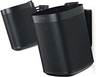 Flexson Wall Mount for SONOS One (Pair) Black