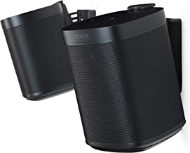 Flexson Wall Mount for SONOS One (Pair, Black)