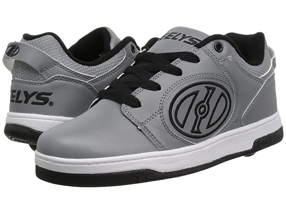 Heelys Voyager (Little Kid/Big Kid/Adult) (Grey Reflective/Black) Boys Shoes