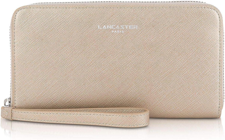 Lancaster Paris Women's 12133CHAMPAGNE Pink Leather Wallet