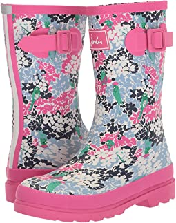 Joules Kids - Printed Welly Rain Boot (Toddler/Little Kid/Big Kid)