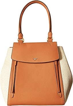 Tory Burch - Half-Moon Straw Tote