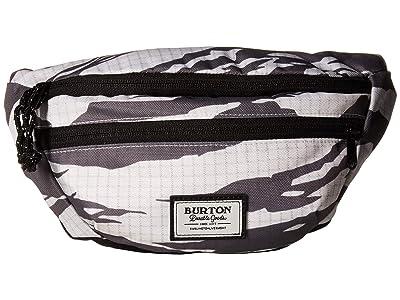 Burton Hip Pack (Castlerock Tiger Ripstop Print) Handbags