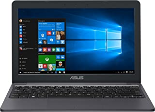 ASUS VivoBook E203NA-YS03 Featherweight design Laptop, Intel Dual-Core Celeron N3350 2.4GHz processor, 4GB DDR3 RAM, 64GB ...