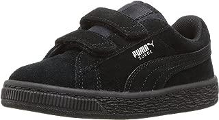 unisex-child Suede 2 Straps Sneaker