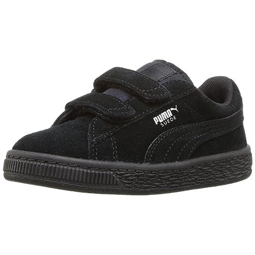 c7c10cb0bc85d5 PUMA unisex-child Suede 2 Straps Sneaker