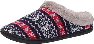 Dearfoams Sweater Knit Clog with Memory Foam womens Slipper