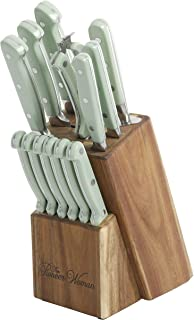 The Pioneer Woman Cowboy Rustic Mint 14-Piece Cutlery Set