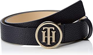 Tommy Hilfiger Women's Round Buckle Belt