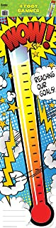 Eureka Wow Thermometer Vertical Classroom Banner, Goal Setting, Measures 45 x 12