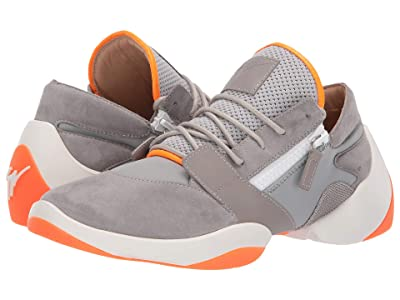Giuseppe Zanotti Suede Jump Low Top Sneaker (Grey) Men