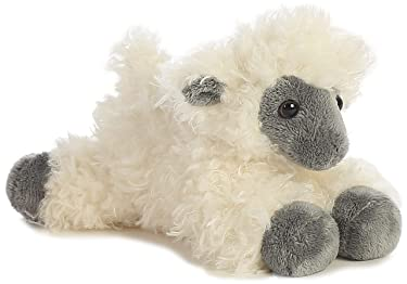 "Aurora - Mini Flopsie - 8"" Black Face Sheep"