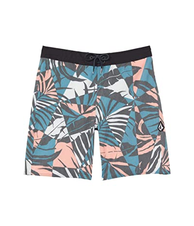 Volcom Kids Labrynth Trunks (Big Kids) (Hydro Blue) Boy