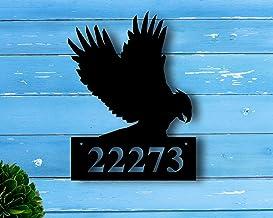 Gepersonaliseerd metalen adresbord, Adres plaque, Huisnummer, Metalen adresbord, Huisnummerborden, veranda decor, housewar...