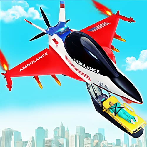 Flying Ambulance Air Jet Transform Robot Games. Do Flying Ambulance Rescue In City Hospital. Download Futuristic Robot Transforming Games & Ambulance Simulator. Robot Ambulance Flying Games