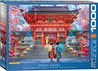 EuroGraphics Spring Sakura by David McLean 1000-Piece Puzzle