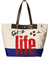 Vivienne Westwood - Africa Get A Life Tote