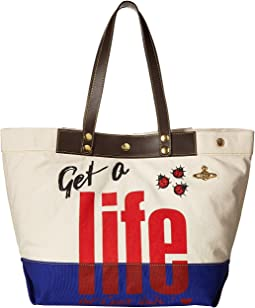 Africa Get A Life Tote