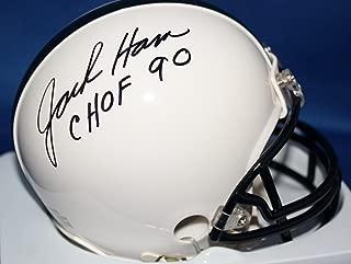 Autographed Jack Ham Penn State Nittany Lions mini helmet with COA