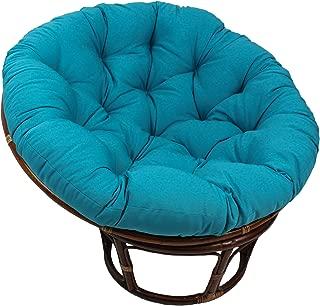 Blazing Needles Solid Twill Papasan Chair Cushion, 52