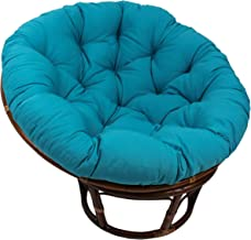 Blazing Needles Solid Twill Papasan Chair Cushion, 48