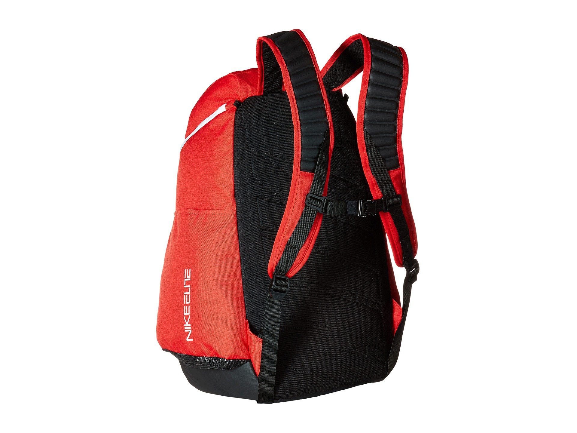 red nike elite backpack