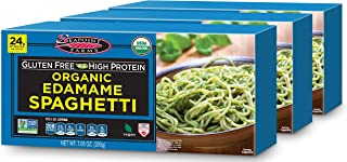 Sponsored Ad - Seapoint Farms Organic Edamame Spaghetti , Healthy Gluten-Free Noodles, 7.05 oz., 3 pack