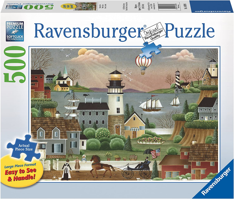 los últimos modelos Ravensburger Beacons Cove Large Format Puzzle Puzzle Puzzle (500-Piece) by Ravensburger  garantía de crédito
