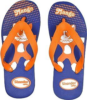 POLITA Boys & Girls Shandar Slip On Slipper Flip Flop, Yellow