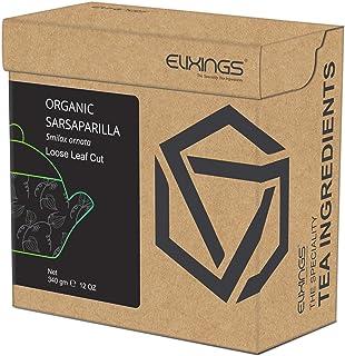 Elixings Organic Sarsaparilla Loose Leaf Cut 340gm (12 OZ) Smilax regelii, The Speciality Tea Ingredients