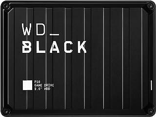 2TB WD_BLACK P10 Game Drive für den Zugriff auf Ihre Spielebibliothek von unterwegs – Läuft auf Konsole oder PC