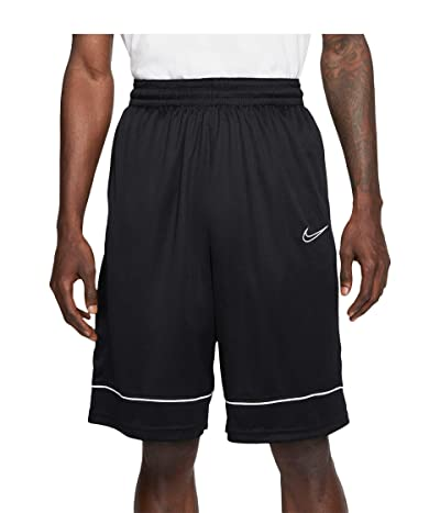 Nike Big Tall Shorts Fastbreak (Black/Black/White) Men